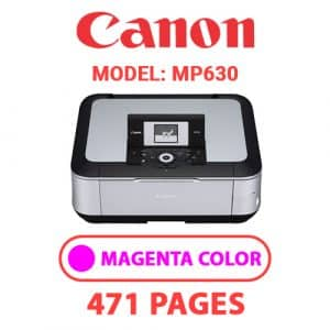 MP630 3 - Canon Printer