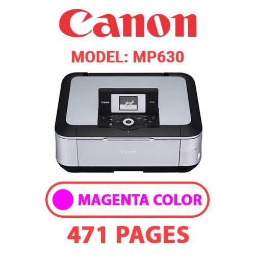 MP630 3 - CANON MP630 PRINTER - MAGENTA INK