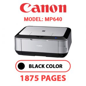 MP640 1 - Canon Printer