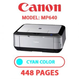 MP640 2 - Canon Printer