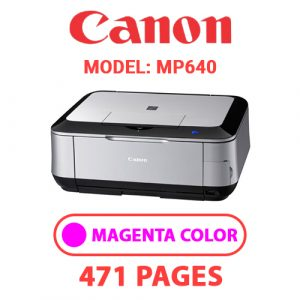 MP640 3 - Canon Printer