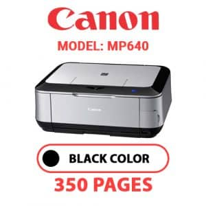 MP640 - Canon Printer