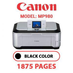 MP980 1 - Canon Printer