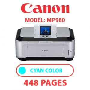 MP980 2 - Canon Printer
