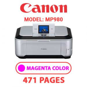 MP980 3 - Canon Printer
