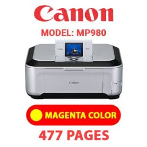 MP980 4 - Canon Printer