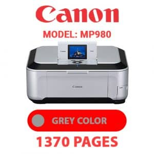 MP980 5 - Canon Printer