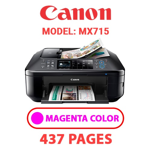 MX715 3 - CANON MX715 PRINTER - MAGENTA INK