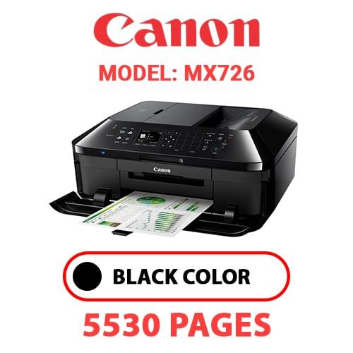 MX726 1 - CANON MX726 PRINTER - BLACK INK