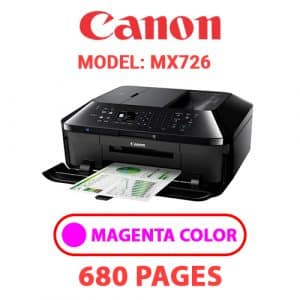 MX726 3 - Canon Printer