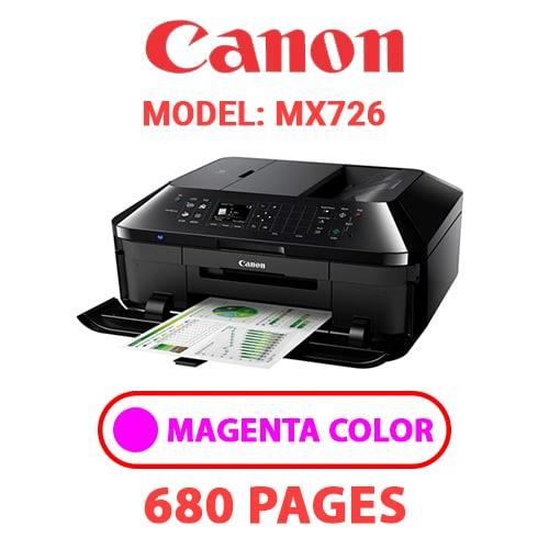 MX726 3 - CANON MX726 PRINTER - MAGENTA INK