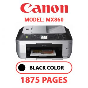 MX860 1 - Canon Printer