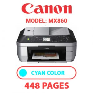 MX860 2 - Canon Printer
