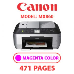 MX860 3 - Canon Printer