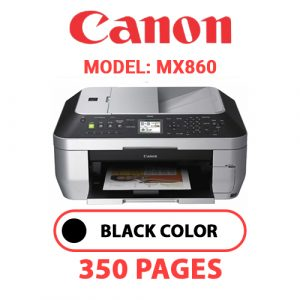 MX860 - Canon Printer