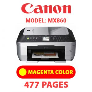MX860 4 - Canon Printer