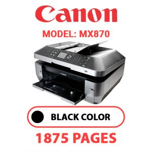 MX870 1 - Canon Printer