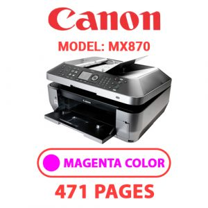MX870 3 - Canon Printer