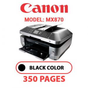 MX870 - Canon Printer