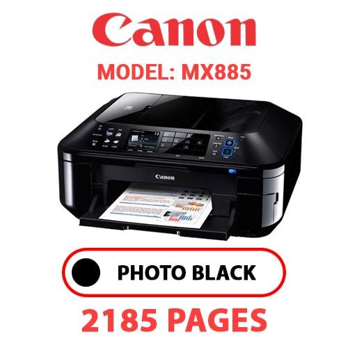 MX885 1 - CANON MX885 PRINTER - PHOTO BLACK INK