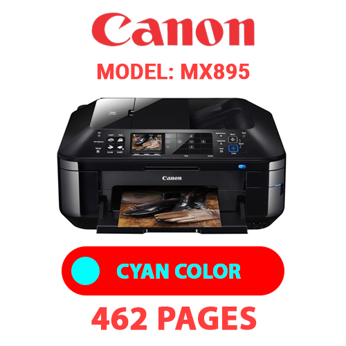 MX895 2 - CANON MX895 PRINTER - CYAN INK