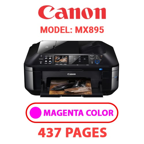 MX895 3 - CANON MX895 PRINTER - MAGENTA INK
