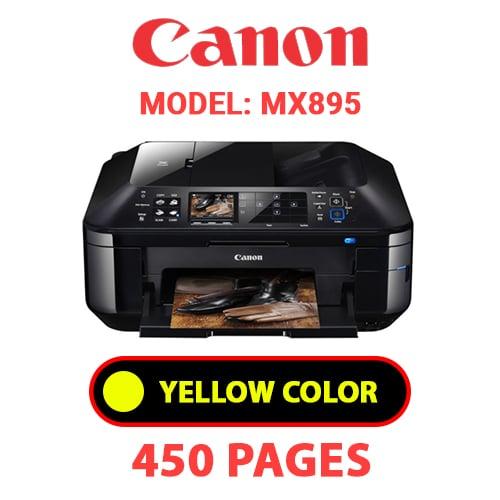 MX895 4 - CANON MX895 PRINTER - YELLOW INK