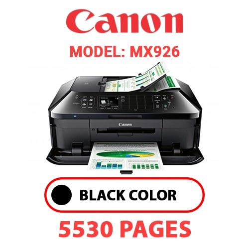 MX926 1 - CANON MX926 PRINTER - BLACK INK