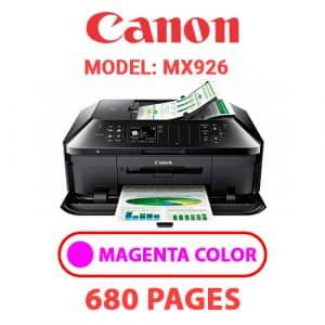MX926 3 - Canon Printer