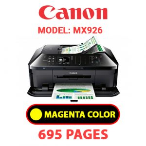 MX926 4 - Canon Printer