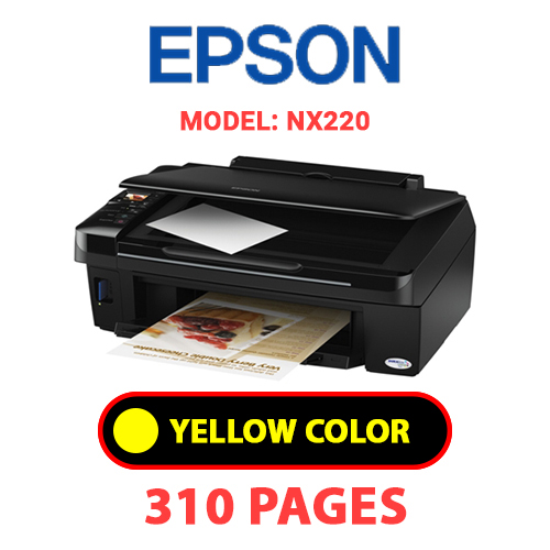 NX220 3 - EPSON NX220 - YELLOW INK