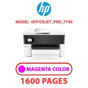 OfficeJet Pro 7740 2 - HP Printer