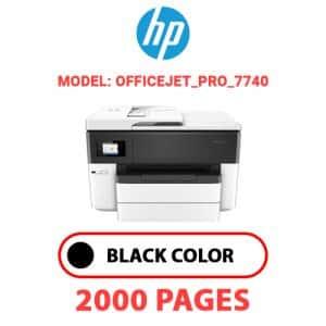OfficeJet Pro 7740 - HP Printer