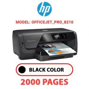 OfficeJet Pro 8210 - HP Printer