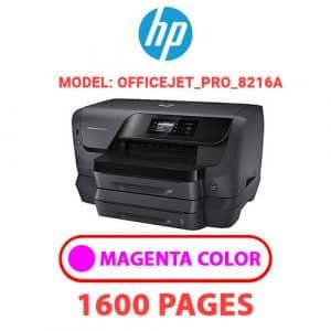 OfficeJet Pro 8216a 2 - HP Printer