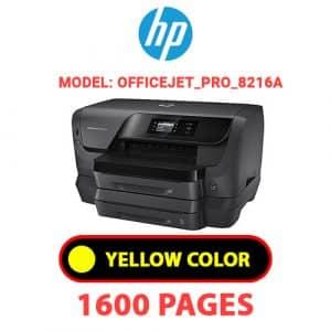 OfficeJet Pro 8216a 3 - HP Printer