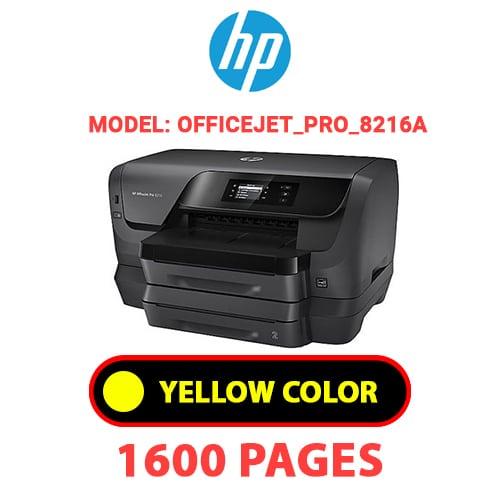 OfficeJet Pro 8216a 3 - HP OfficeJet_Pro_8216a - YELLOW INK