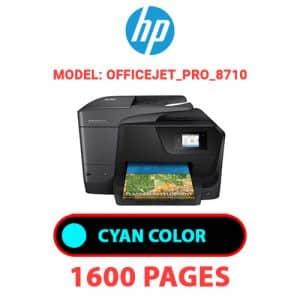 OfficeJet Pro 8710 1 - HP Printer