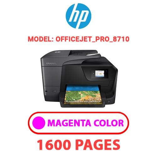 OfficeJet Pro 8710 2 - HP OfficeJet_Pro_8710 - MAGENTA INK