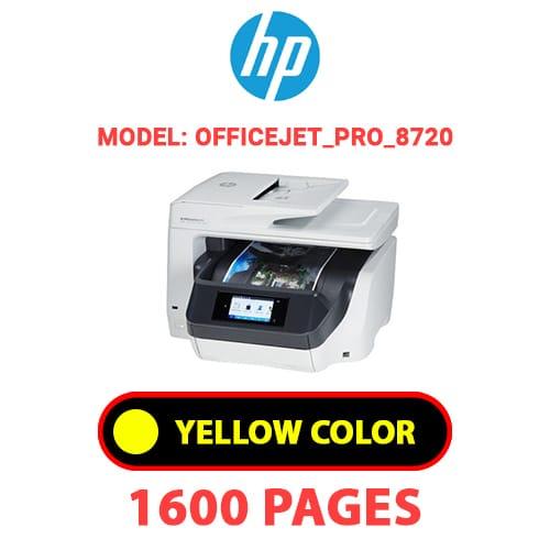 OfficeJet Pro 8720 3 - HP OfficeJet_Pro_8720 - YELLOW INK