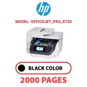 OfficeJet Pro 8720 - HP Printer