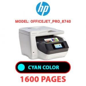 OfficeJet Pro 8740 1 - HP Printer