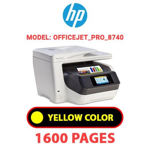 OfficeJet Pro 8740 3 - HP OfficeJet_Pro_8740 - YELLOW INK