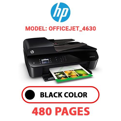 Officejet 4630 - HP Officejet_4630 - BLACK INK