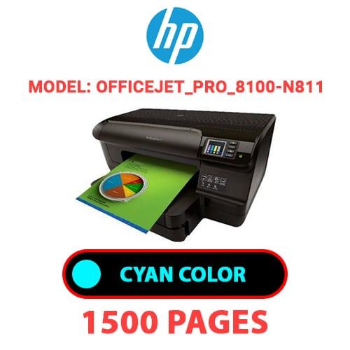 Officejet Pro 8100 N811 1 - HP Officejet_Pro_8100-N811 - CYAN INK