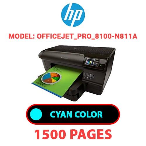 Officejet Pro 8100 N811a 1 - HP Officejet_Pro_8100-N811a - CYAN INK
