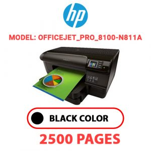 Officejet Pro 8100 N811a - HP Printer