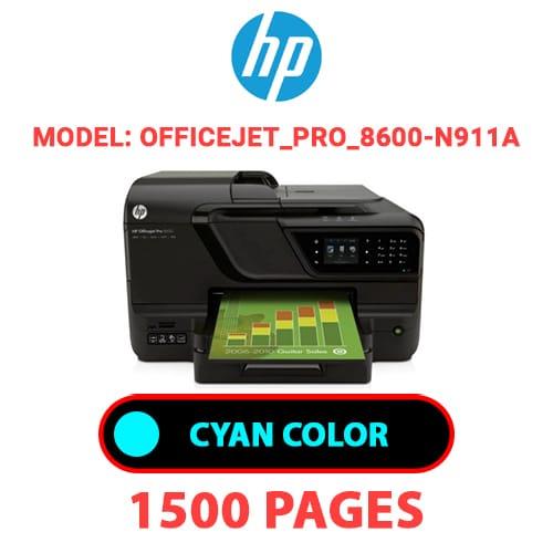 Officejet Pro 8600 N911a 1 - HP Officejet_Pro_8600-N911a - CYAN INK