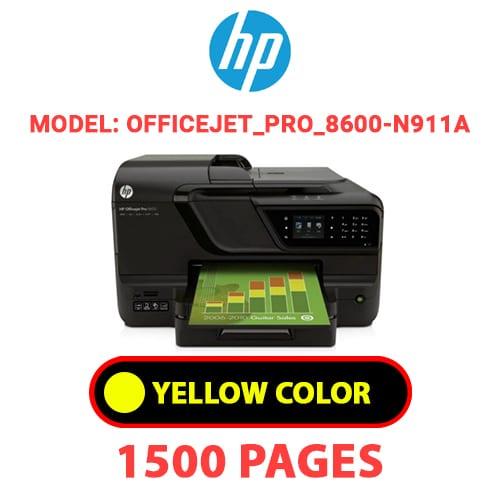 Officejet Pro 8600 N911a 3 - HP Officejet_Pro_8600-N911a - YELLOW INK