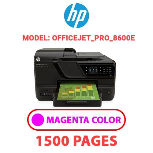 Officejet Pro 8600e 2 - HP Officejet_Pro_8600e - MAGENTA INK